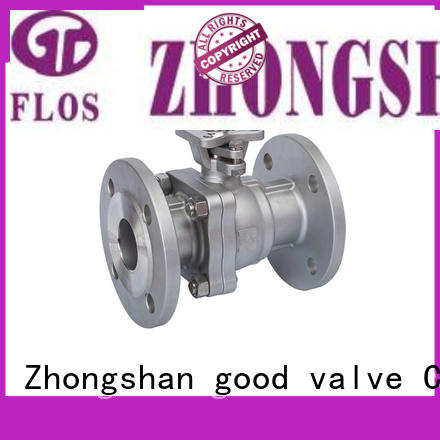 FLOS flanged stainless steel valve Supply for opening piping flow