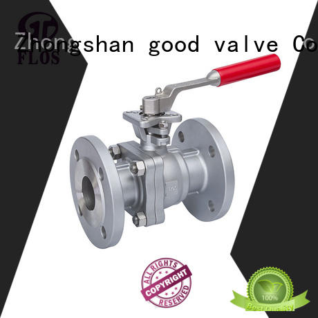 FLOS high quality flanged ball valve ball for directing flow