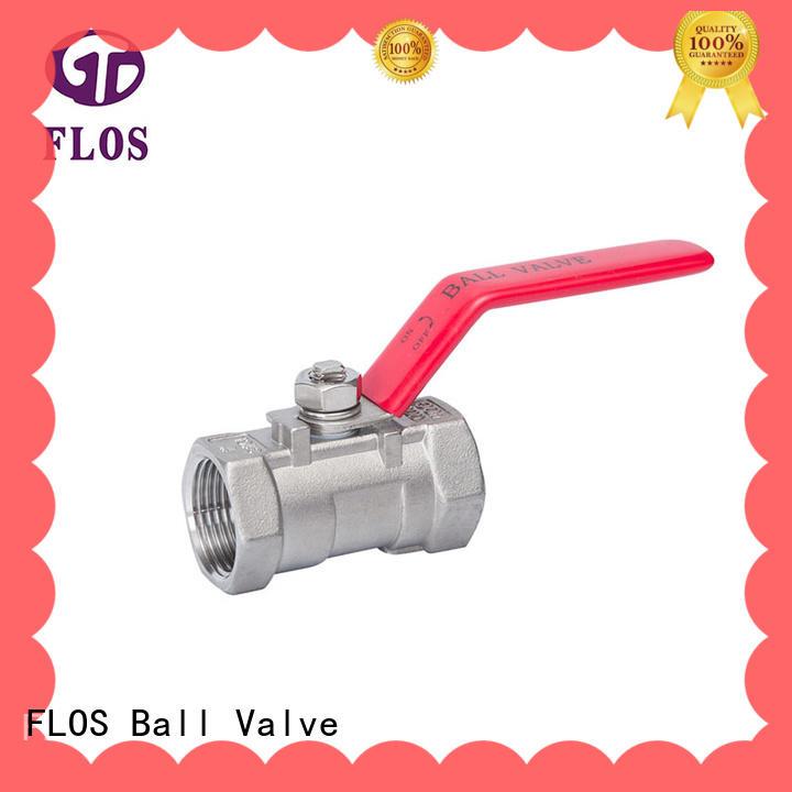 FLOS highplatform single piece ball valve supplier for directing flow