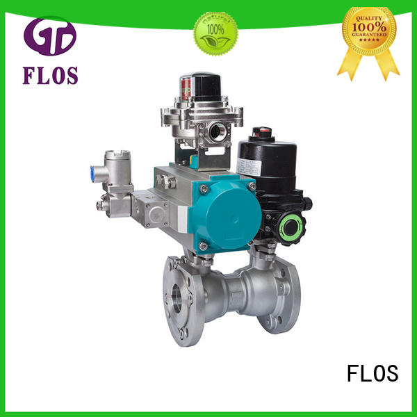FLOS New 1-piece ball valve company for directing flow