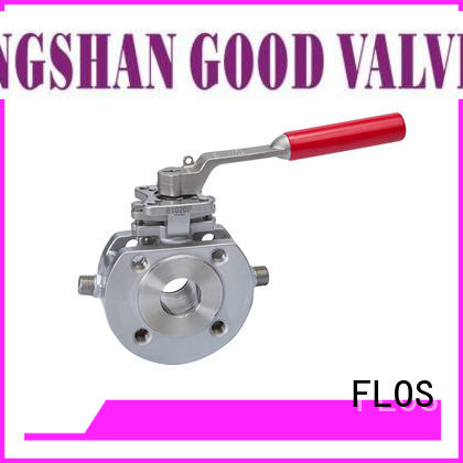 FLOS valveflanged valves manufacturer for opening piping flow