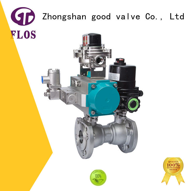 FLOS professional 1 pc ball valve supplier for opening piping flow