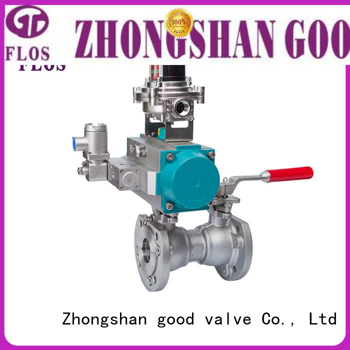 FLOS safety 1 pc ball valve wholesale for closing piping flow