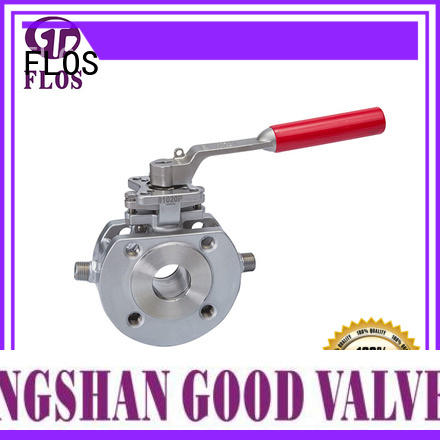 FLOS Latest single piece ball valve factory for opening piping flow
