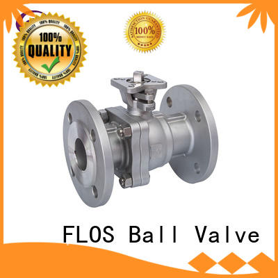 online 2-piece ball valve switchflanged supplier for directing flow