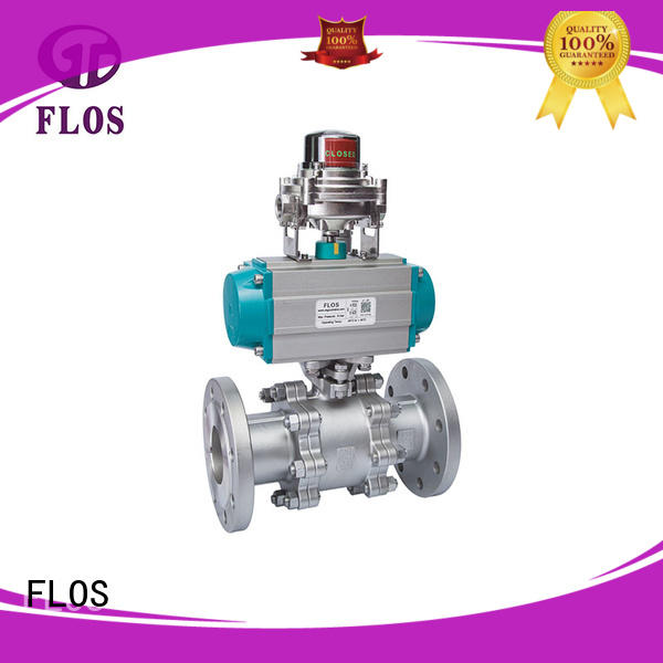 online stainless valve pneumatic supplier for opening piping flow