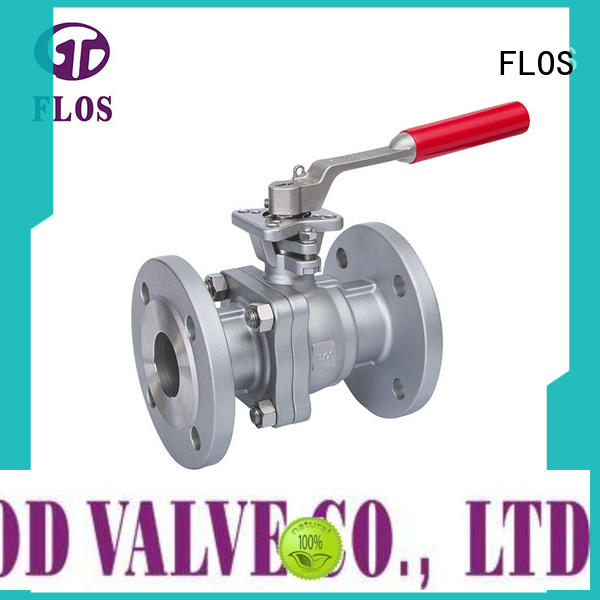 FLOS switchflanged stainless steel valve manufacturer for opening piping flow