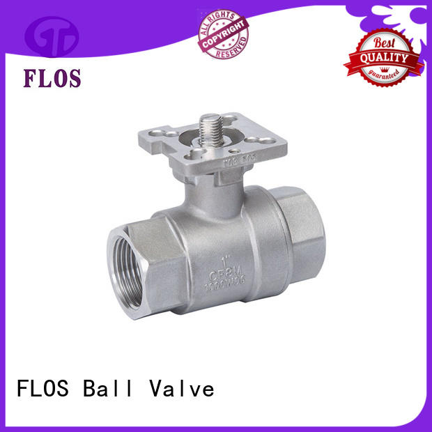FLOS experienced stainless ball valve ball for opening piping flow