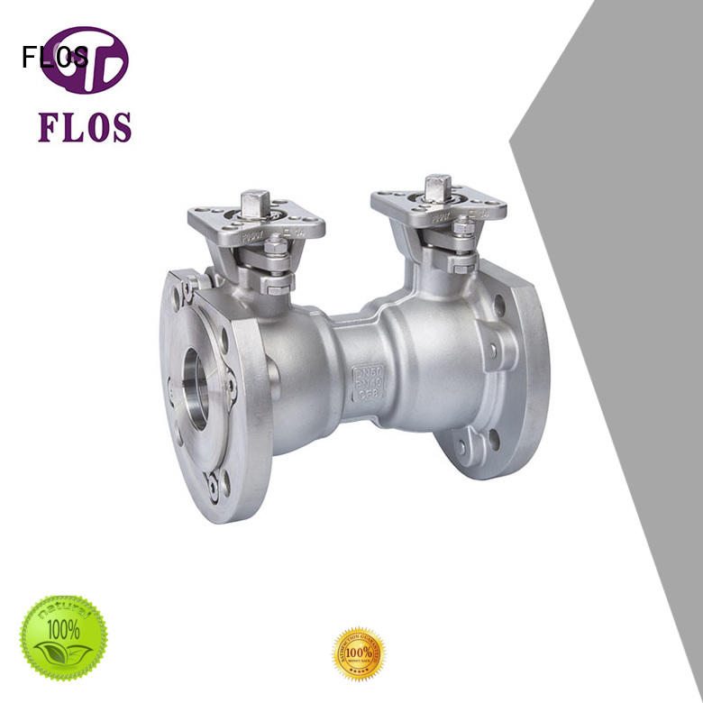 FLOS carbon single piece ball valve supplier for directing flow