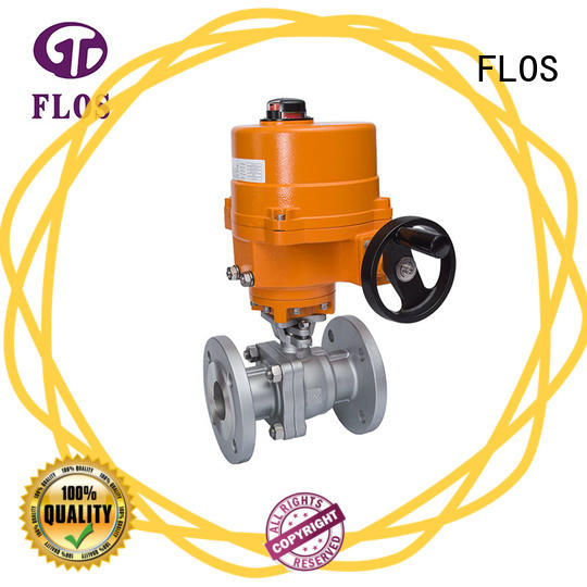 FLOS online flanged valve manufacturer for closing piping flow