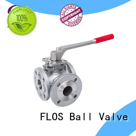 FLOS valve 3 way valves ball valves wholesale for closing piping flow