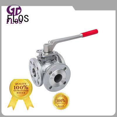 Top flanged end ball valve way manufacturers for directing flow