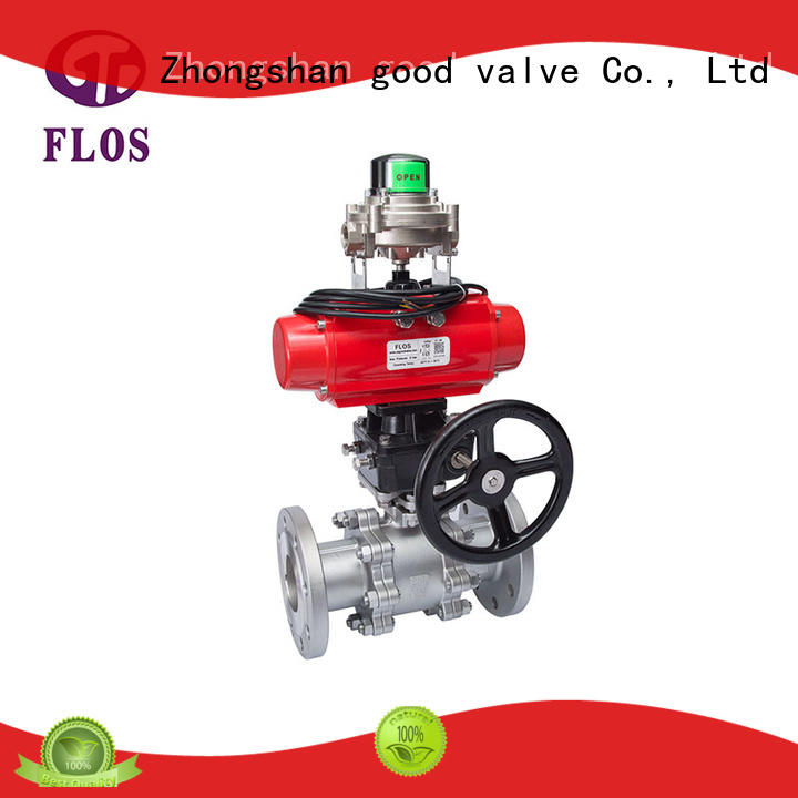 safety 3 piece stainless steel ball valve supplier for closing piping flow