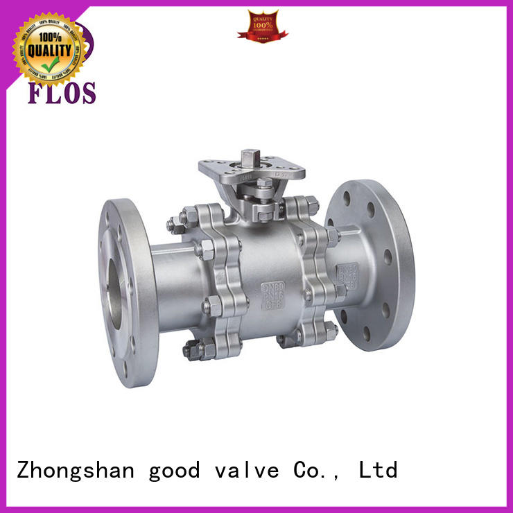 FLOS ends 3 piece stainless ball valve wholesale for directing flow