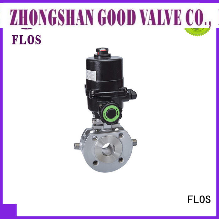 Wholesale single piece ball valve electric company for closing piping flow