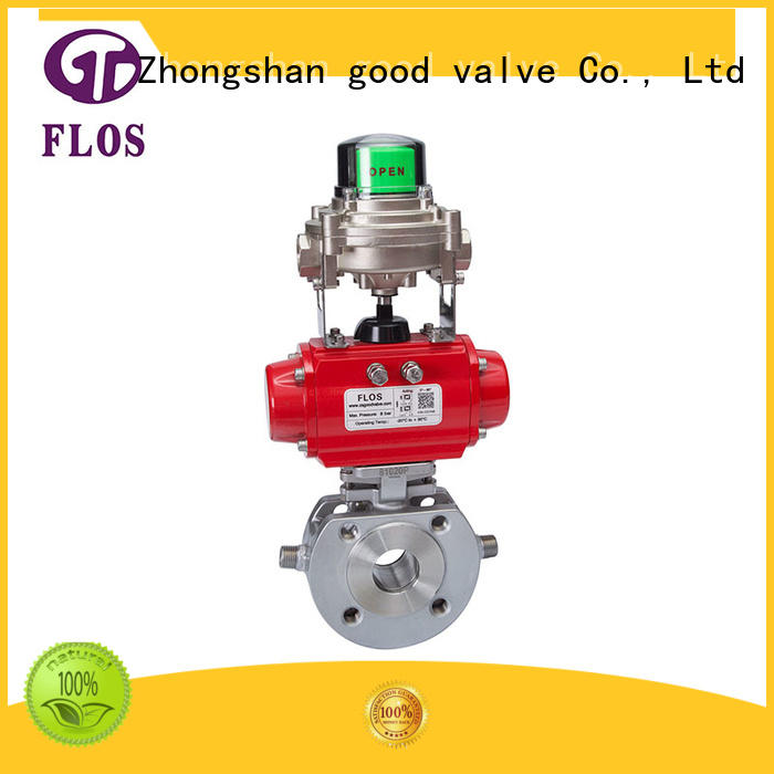 FLOS Custom 1 pc ball valve Supply for opening piping flow