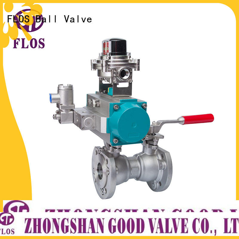 FLOS flanged flanged gate valve manufacturer for opening piping flow