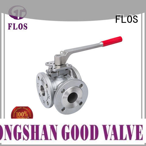 FLOS manual 3 way valve wholesale for opening piping flow