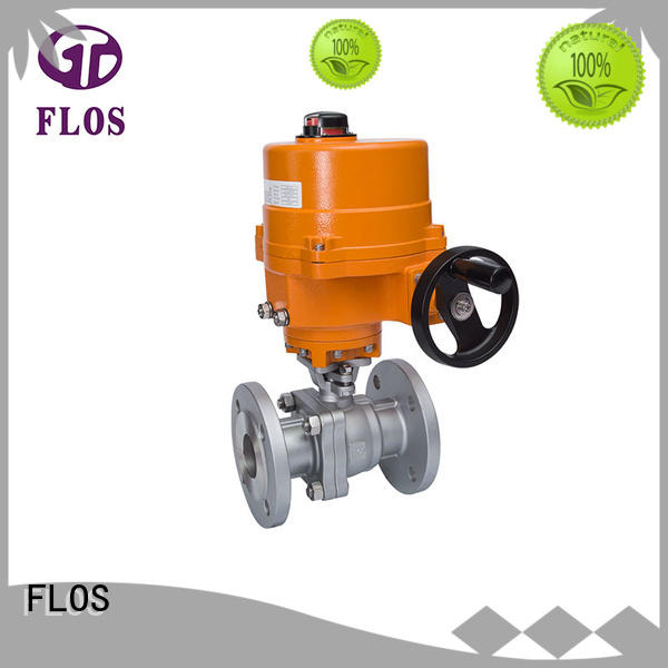 FLOS high quality 2-piece ball valve wholesale for closing piping flow