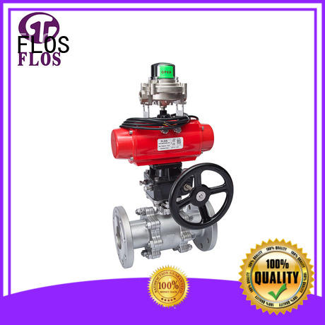 FLOS valvethreaded three piece ball valve manufacturer for opening piping flow