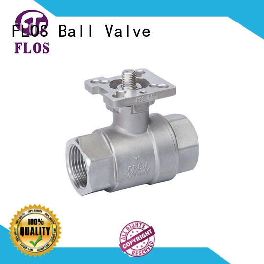 FLOS High-quality stainless ball valve for business for opening piping flow