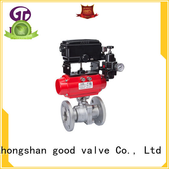 FLOS positionerflanged ball valve manufacturers wholesale for directing flow