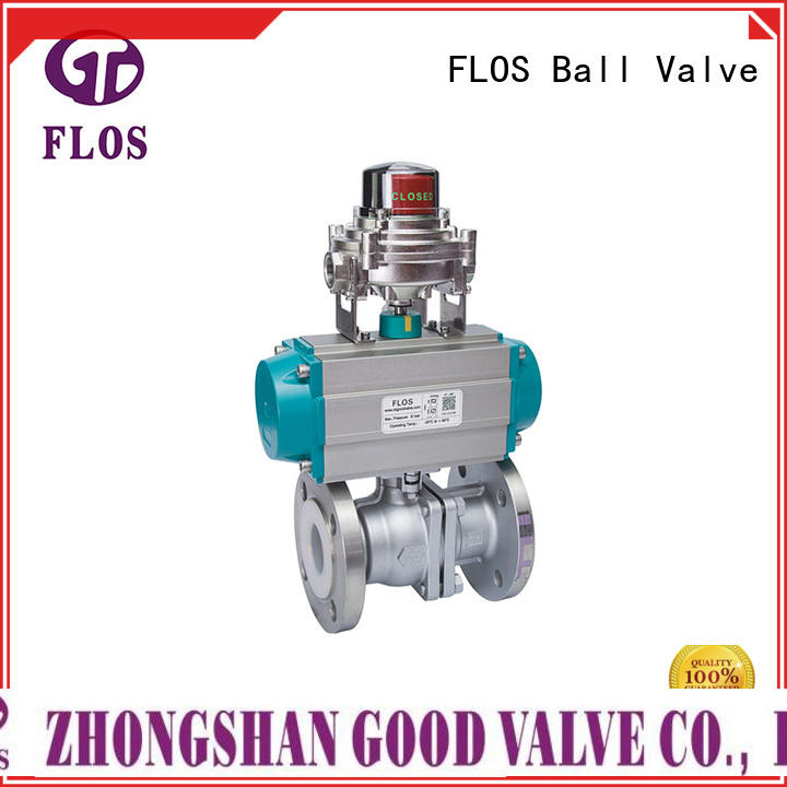 FLOS experienced stainless ball valve manufacturer for closing piping flow