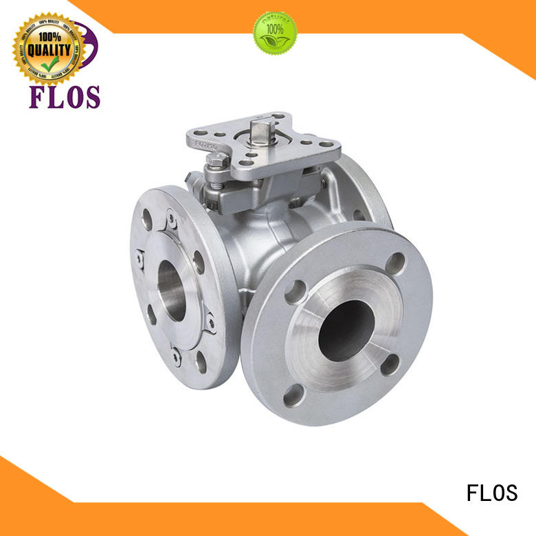 FLOS switchflanged three way ball valve suppliers supplier for closing piping flow