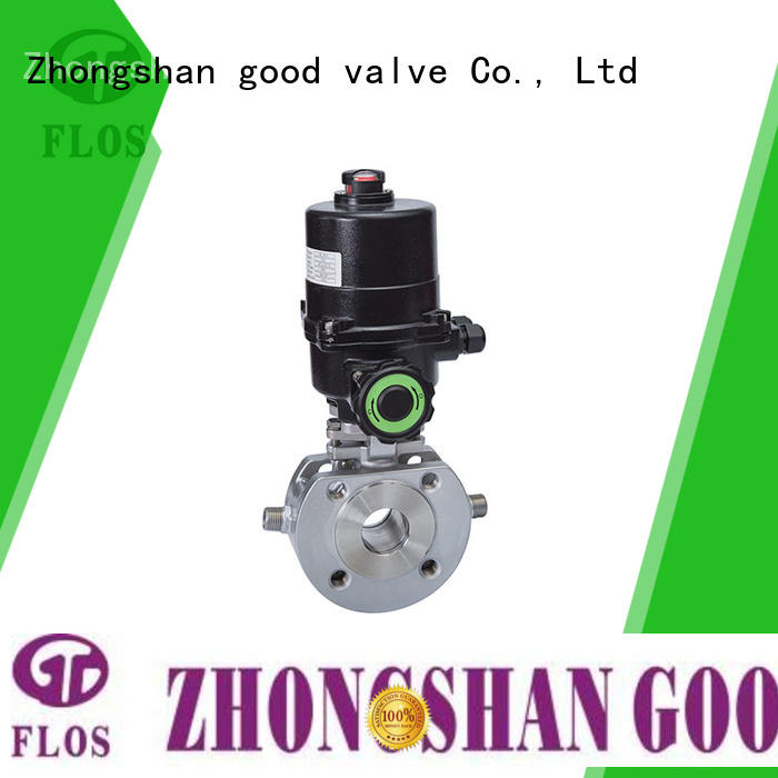 FLOS double professional valve Supply for opening piping flow