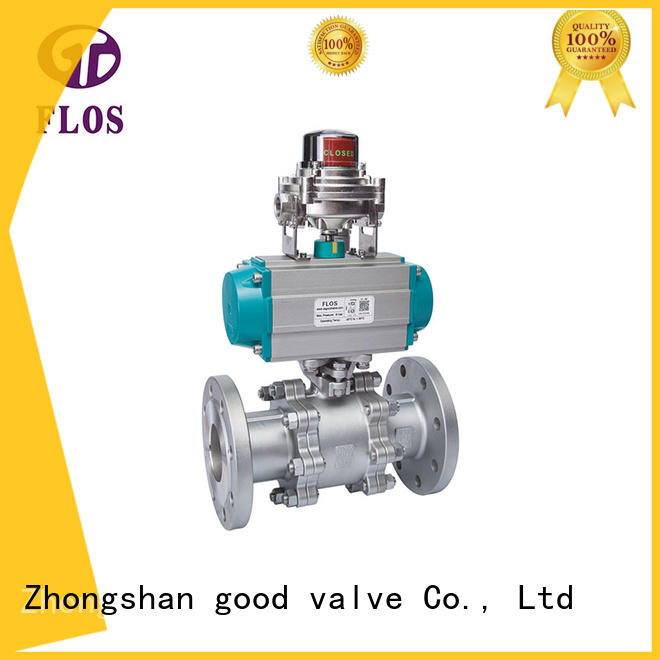 FLOS professional 3-piece ball valve supplier for opening piping flow