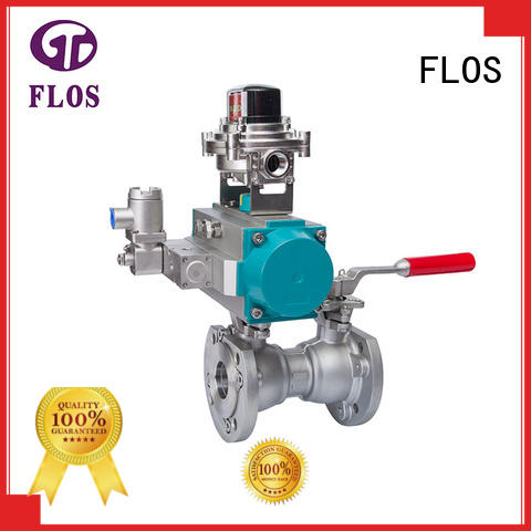 FLOS high quality one piece ball valve wholesale for closing piping flow