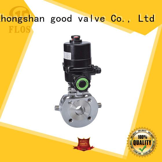 FLOS highplatform one piece ball valve manufacturer for directing flow