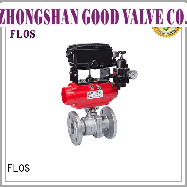 FLOS experienced 2-piece ball valve supplier for opening piping flow