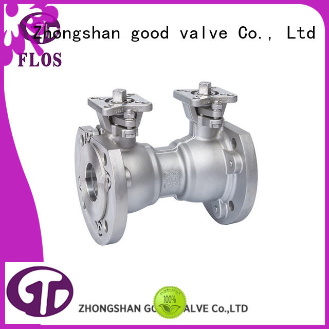 FLOS flanged professional valve supplier for opening piping flow