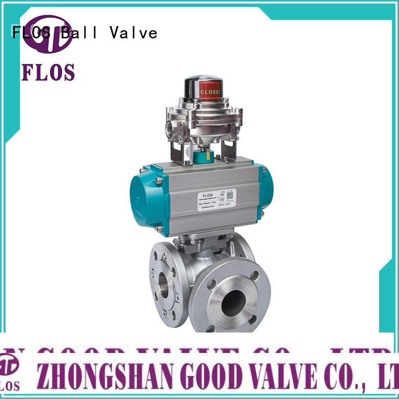 FLOS ball flanged end ball valve manufacturer for directing flow