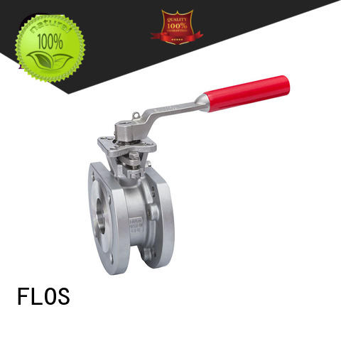 FLOS stainless 1 pc ball valve Supply for directing flow