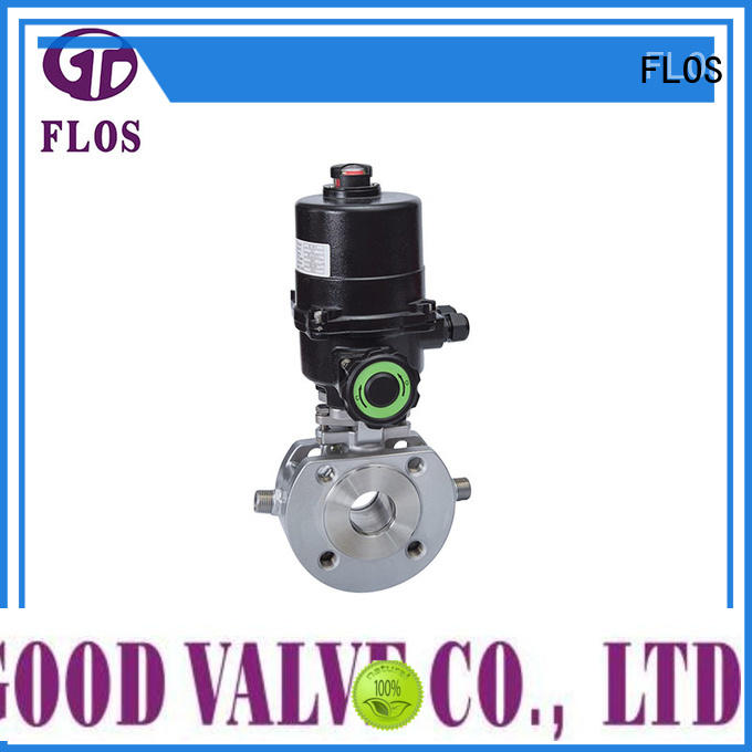 safety one piece ball valve valveflanged supplier for directing flow