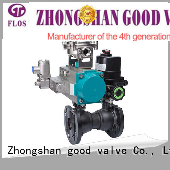 3 way pneumatic/electric carbon steel double ball valve with open-close position switch