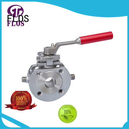 FLOS high quality 1 pc ball valve supplier for opening piping flow