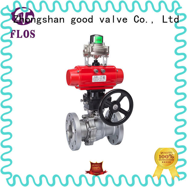 FLOS valvethreaded 2-piece ball valve manufacturer for directing flow