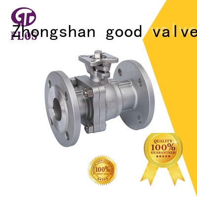 FLOS ends stainless steel ball valve supplier for opening piping flow