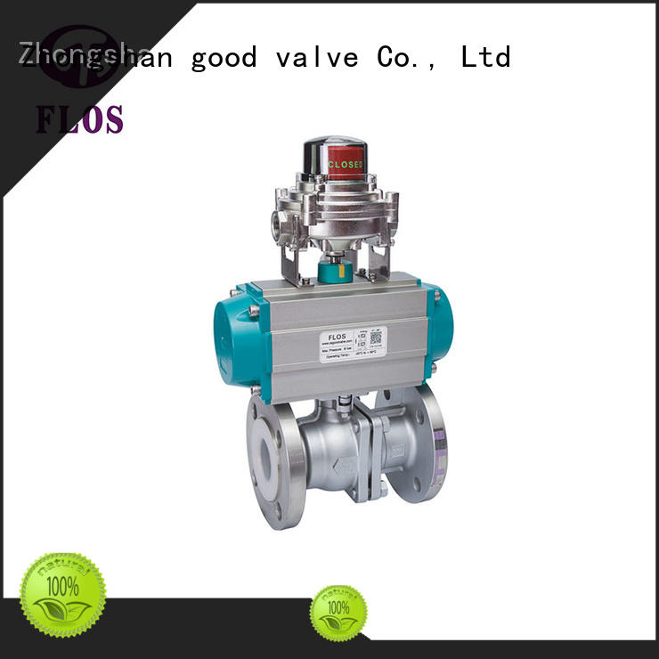 high quality ball valve manufacturers positionerflanged wholesale for opening piping flow