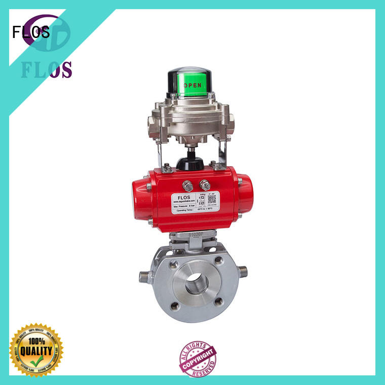 FLOS high quality 1 pc ball valve supplier for directing flow