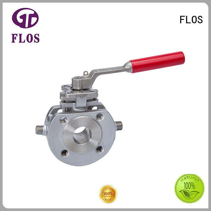 FLOS preservation ball valve supplier for closing piping flow