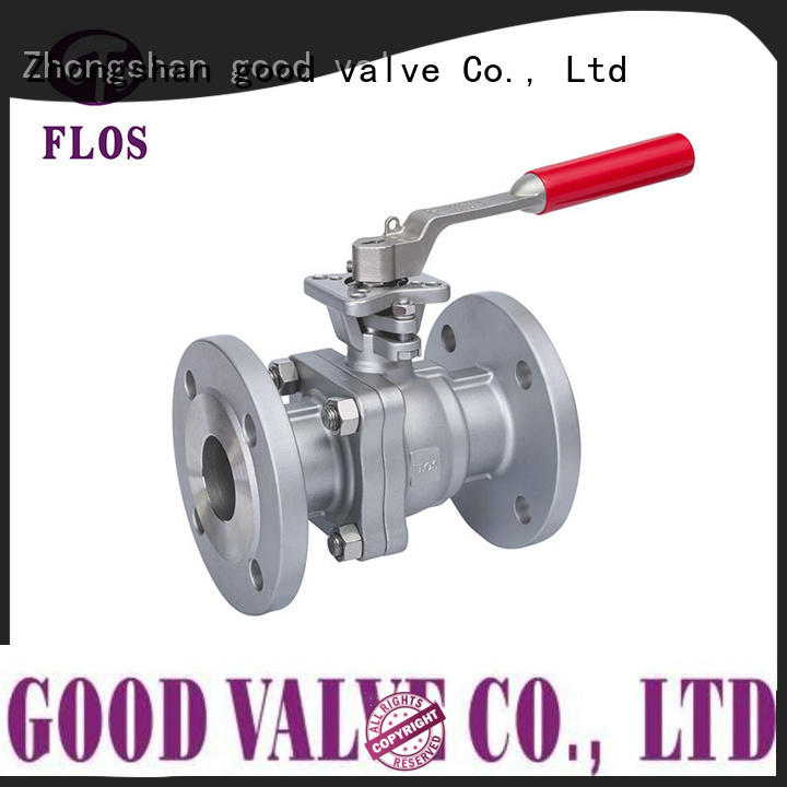 FLOS high quality two piece ball valve wholesale for opening piping flow