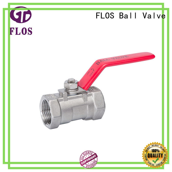 experienced water ball valve manufacturer for opening piping flow FLOS