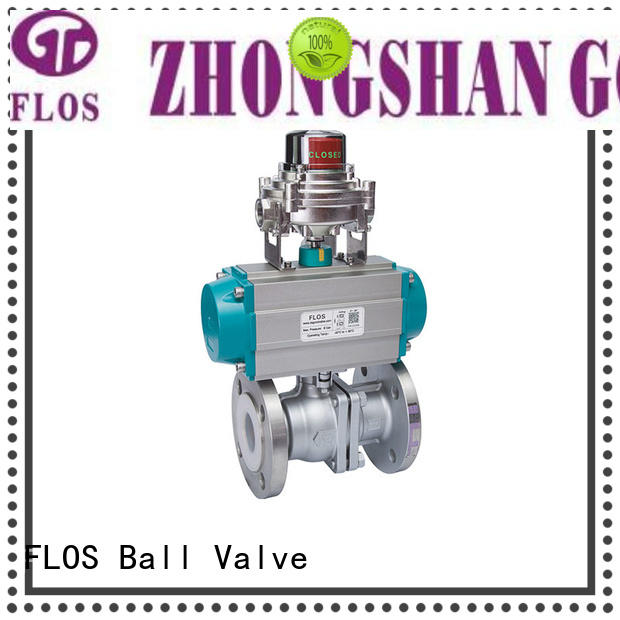 FLOS ball stainless steel ball valve manufacturer for opening piping flow