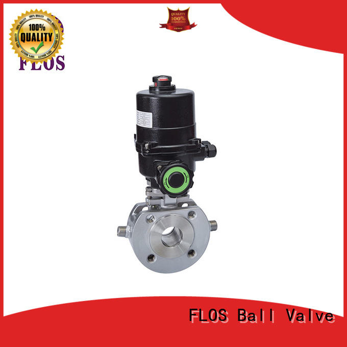 FLOS online 1 piece ball valve supplier for directing flow