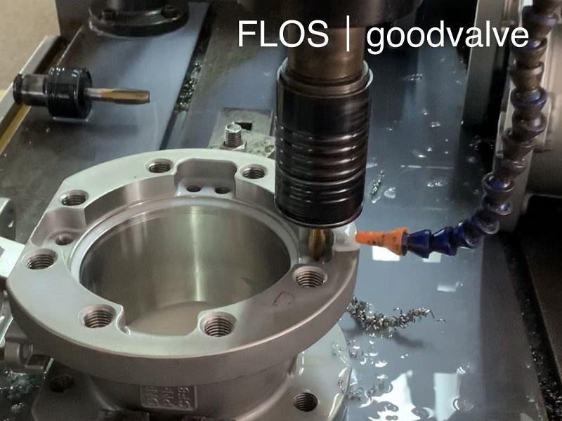 Flange hole processing procedures