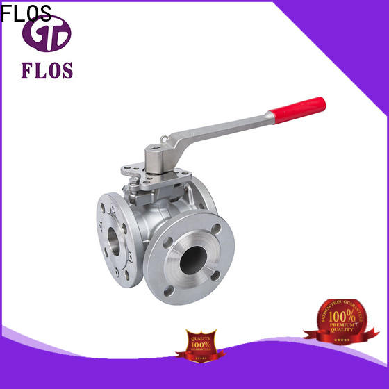 FLOS High-quality three way valve factory for directing flow